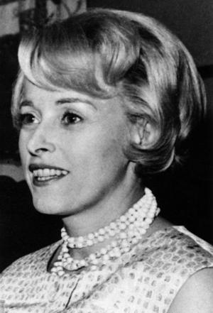 Marianne Höök formulerade sig gärna kvickt men såg de allvarliga orättvisorna. Bilden är från 1966.