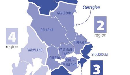 Driv igenom storregionerna nu 3