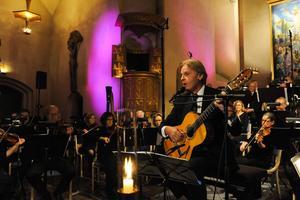 Sandvikens Symfoniorkesters solist Göran Fristorp.