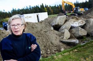 Ulla Bengtsson vill tänka framåt och tycker att det ska bli trevligt med nya, fräscha lokaler.