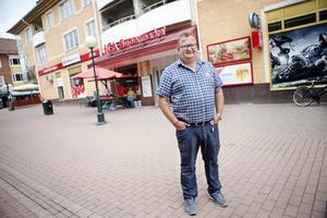 Vd Anders Waller berättar att Ica Alen i Söderhamns ombyggnad gett resultat i bokslutet för 2014.
