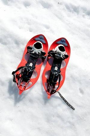 """""""Snöskor är enklare än skidor och miljövänligare än skoter"""", säger Christoph Schenk."""