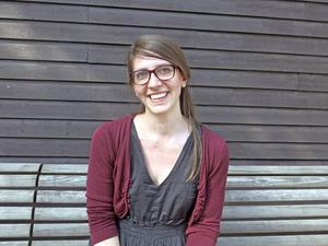 Elenor Noble, konsthandläggare i Gävleborg.