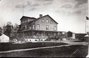 Strömdalens värdshus var ett riktigt kråkslott som Gävleborna gärna vallfärdade till.