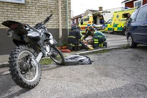 Olyckan inträffade i korsningen Långgatan-Besvärsgatan.