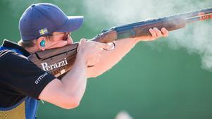 Henrik Jansson tog VM-brons. Bilden är tagen vid en världscuptävling i Nicosia på Cypern, tidigare i år.