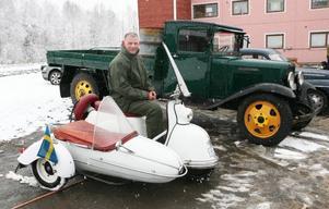 HG Eliasson från Östersund kom till vårmarknaden med svärfars Gogo från 1959. SVärfar heter Nils Karlsson och bor i Hammerdal.