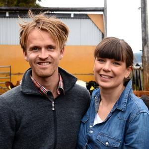 Erik Östling och Lisa Jungell i Åre vill hjälpa fler att hitta till matproducenterna och skapa debatt kring dagens matproduktion.
