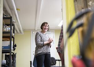 Enhetschefen Marianne Pettersson sade redan vid invigningen tidigare i år att en ny uteplats var på gång.