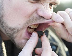 Trevligare upplevelse om man vet smaken innan det stoppas under läppen