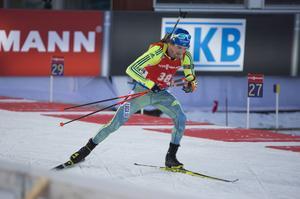 Fredrik Lindström med fyra bom totalt åkte in på 56:e plats och precis så att får starta även söndagens jaktstart. Förstås långt ifrån vad han hoppats på: