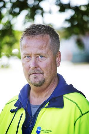 Stefan Hanning, driftledare på Mittsverige vatten.