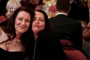 JennieForsén, Morismore AB, och Helena Rosenhill, Rosenhill Consulting AB, hade väldigt kul på festen.