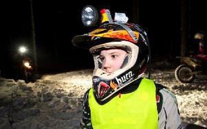 Isak Gifting från Grycksbo ligger tvåa i USM-serien för 16-åringar – trots sina 12 år. Foto: Klockar Mattias Nääs/DT