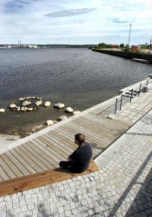Den nya gästhamnen ska enligt planerna ligga i inre hamnbassängen.