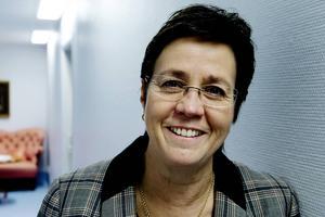 Margareta Berglund Rödén, förvaltningschef för specialistvården i Landstinget Västernorrland, berättar att beslutet om att avgå tog hon redan vid årsskiftet.