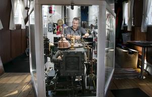 Tommy Brandt är en av de nya maskinisterna. I dag kör han en nostalgitur till Ängelsberg.