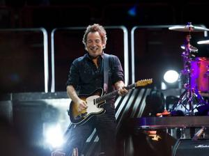 Bruce Springsteen drar igång turnéracet med fyra spelningar på Stadion i Stockholm nästa vecka. Foto: Scanpix