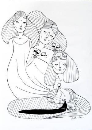 Det sociala livet. Betraktelser av Matilda Rune.
