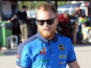 Andreas Sundin, en nöjd lagledare i Masarna.