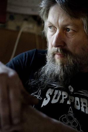Christer Nilsson i Wyatt Earps mc-klubb var den som drog igång tältprojektet. Om allt går enligt planerna kan mc-klubben ta hand om ännu fler tält nästa år.