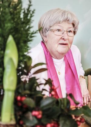 Berit Rönnberg berättar att hon