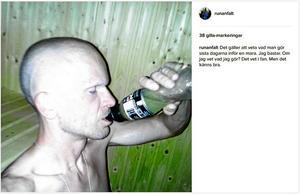 Bild från Anfälts Instagram-konto.