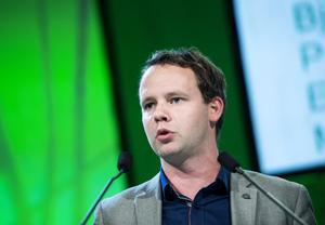 Rickard Nordin (C ), riksdagsledamot, energipolitisk talesperson. Foto: Pontus Lundahl / TT