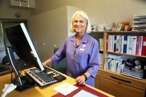 Mia Westerlund, diabetessjuksköterska i Sollefteå.