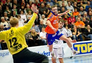 Oskar Erixon gjorde nio mål i Lifs seger mot Warta.
