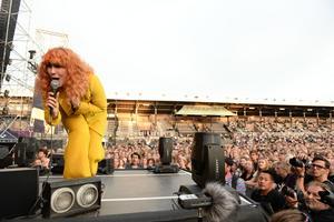 Miss Li spelade på Stockholms stadion som förband till Veronica Maggio i somras.