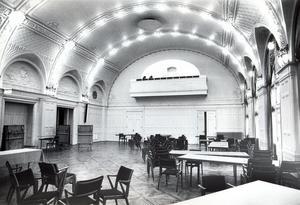 16 november 1981. Festvåningen på Stadt.