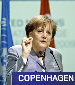 Angela Merkel, en talare som går hem i alla kretsar.