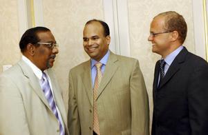 Representanter för Tamilska tigrarna, regeringen och de norska medlarna under det misslyckade fredförsökt under tidigt 2000-tal.