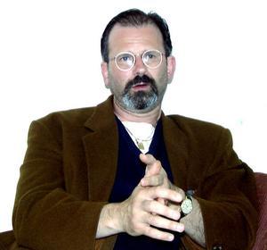 Peter Springare, tidigare polis i Avesta, fotograferad 1998.