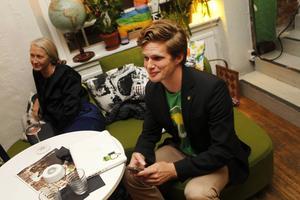 Björn Lindgren, Miljöpartiets kandidat till Riksdagen.