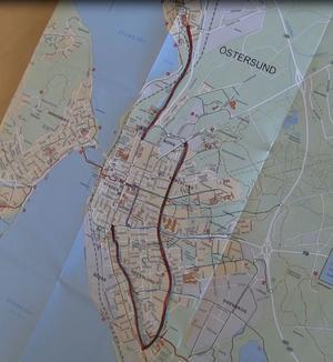 Redan i sommar inleds arbetet med Östersunds tre nya expresscykelvägar.