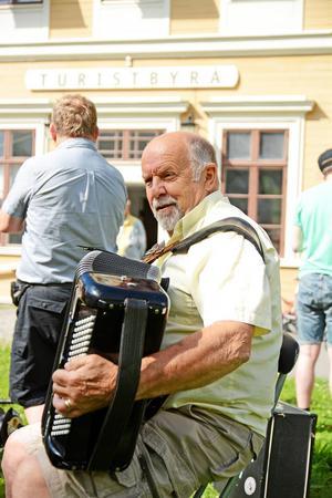 Dragspelaren Rolf Göransson, från Frösön.