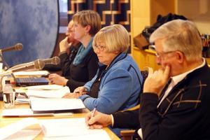 Många inlägg. Budgetmötet med kommunfullmäktige gav presidiet en hel del jobb.