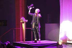 David Lehnberg tog emot pris för Årets prroducent.
