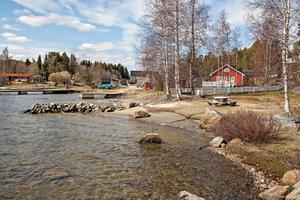 Huset i Killingskär ligger precis vid havet.