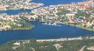 Fotomontage.   Foto: Härnösands kommun
