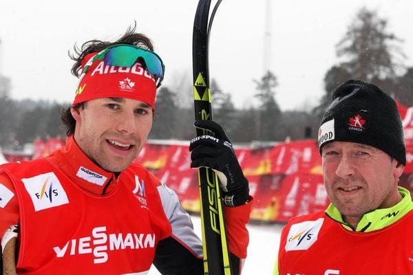 Kanadensaren Alex Harvey har vunnit två medaljer hittills i VM. Det tackar han den svenske vallaren Micke Book för. Jämten sköter Harveys skidor sedan 2008, ett väldigt framgångsrikt samarbete.