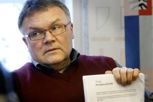 Sven-Åke Thoresen (S) medger att det tar för lång tid att behandla motioner i kommunen. Foto: Ulf Borin/Arkiv