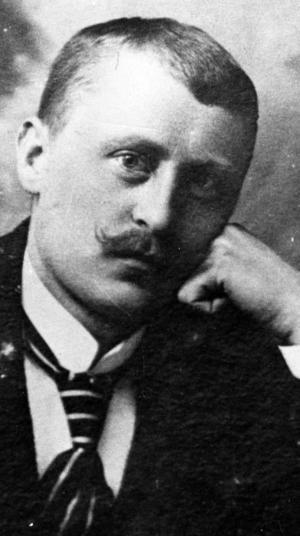 SONEN. Otto Lindwall bodde i Gävle och komponerade musiken till