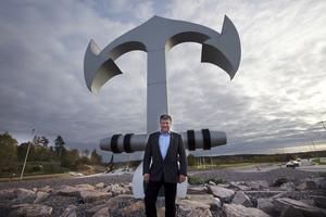 Kommunalrådet Kjell Jansson (M) gläds åt att kommunens ekonomi är stark.