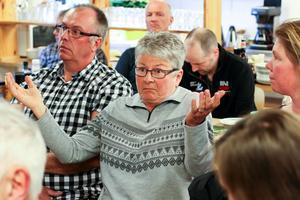 Kerstin Torgersson, Borgvattnet, Ragunda kommun. – Jag är orolig.