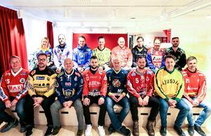 De 14 tränarna i  superallsvenskan.