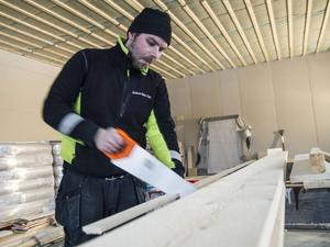 Svante Mohss har tidigare jobbat som båtmekaniker i både Stockholm och Hudiksvall.
