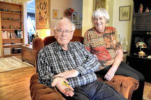 Jörgen Nyström och hustrun Berith har varit med i Röda Korset under 50 år.